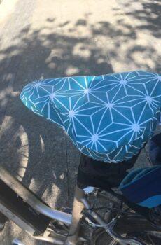 Charlotte couvre-selle de vélo